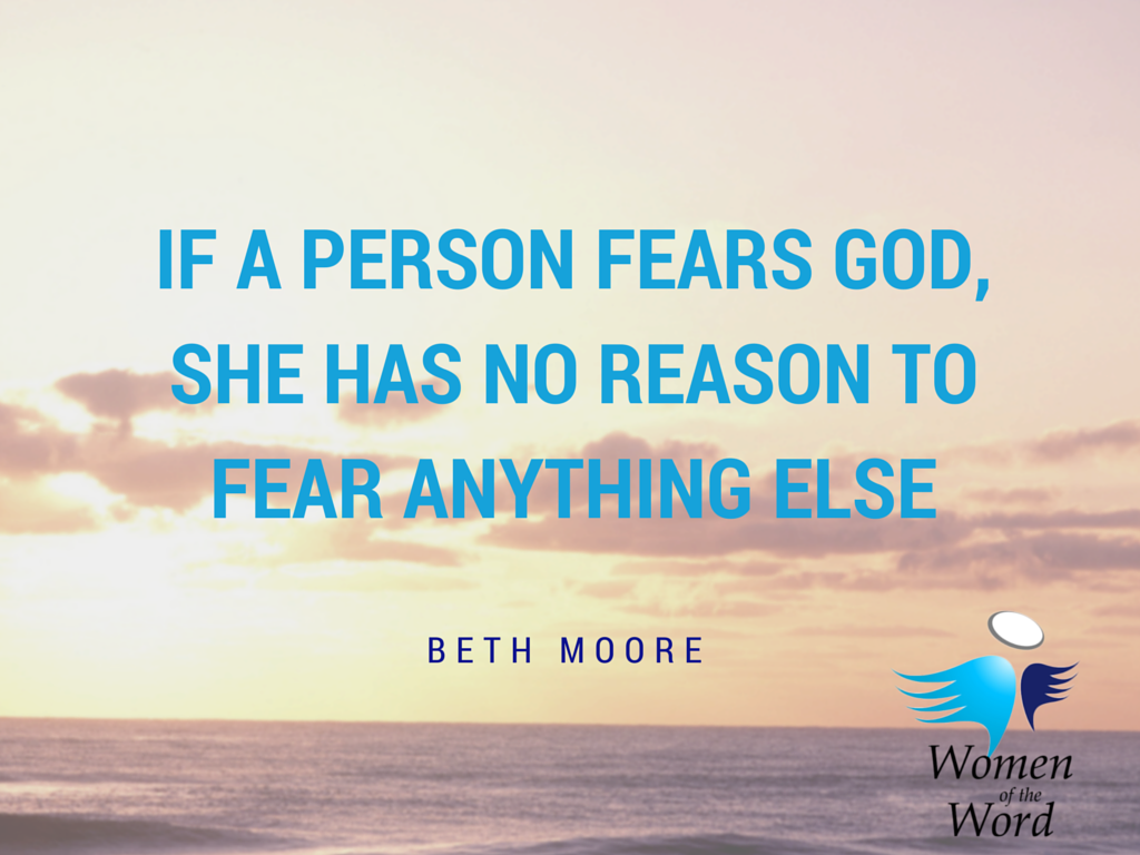 If a person fears god, she has no reason (2)